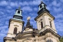 kostel sv Jana Nepomuckého Na Skalce