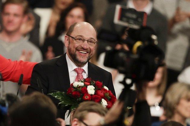 Německá sociální demokracie si dnes do svého čela zvolila bývalého šéfa Evropského parlamentu Martina Schulze.