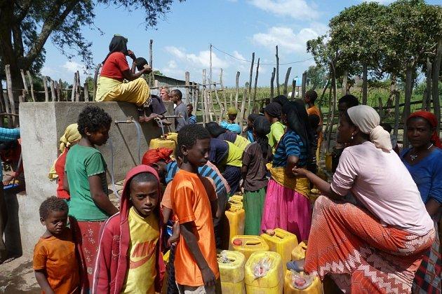 Veolia Voda pomáhá opravovat vodní zdroje v Etiopii