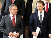 Lubomír Zaorálek (vlevo) a Sebastian Kurz.