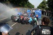Demonstrace proti summitu G20, Hamburk