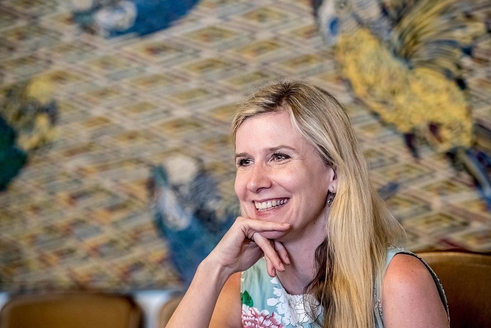 Poslankyně Kateřina Valachová.
