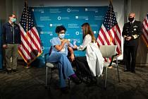 Očkování v USA