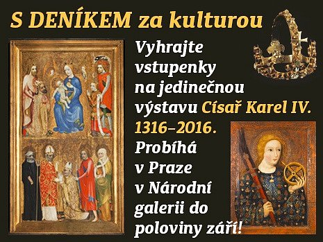 Soutěž o vstupenky na výstavu Karel IV.