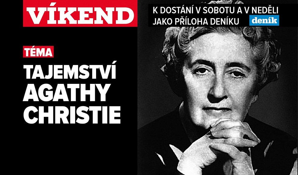Agatha Christie, poutání na magazín Víkend