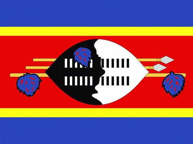 Svazijská vlajka