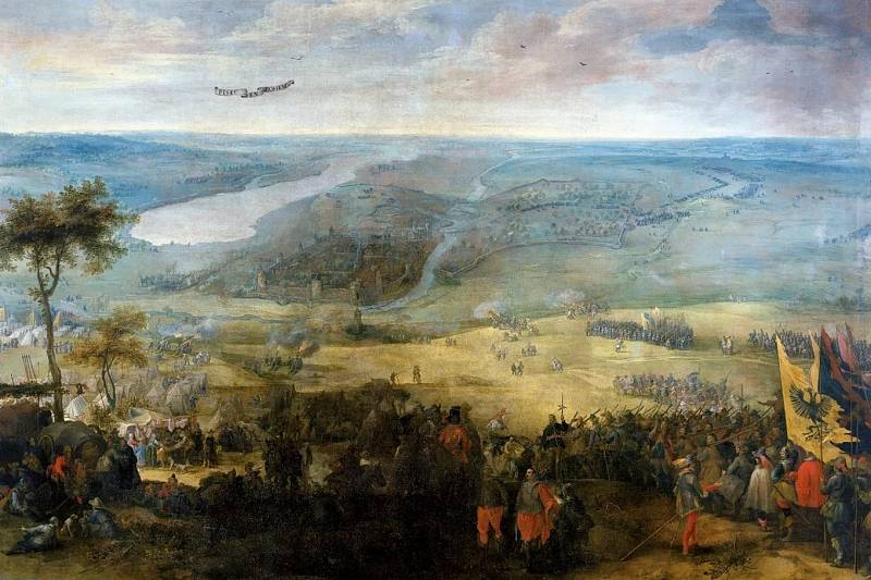 Bitva na Bílé hoře na obraze vlámského malíře Pietera Snayerse (1592 až 1666/67)