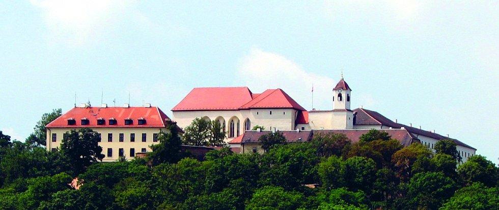 Nad historickým centrem Brna se tyčí dominanta celého města – hrad Špilberk.
