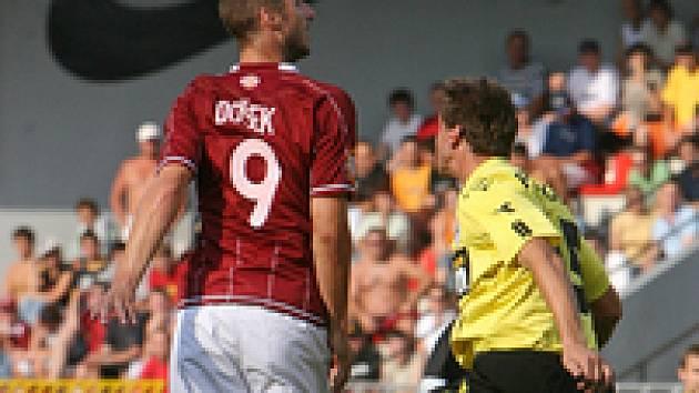 Libor Došek se trefil proti Zlínu podruhé v sezoně