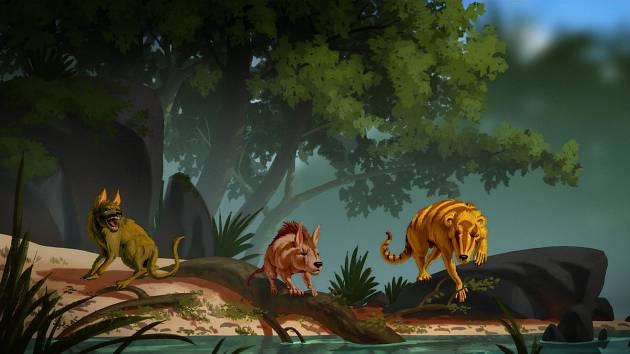 Conacodon hettingeri, Miniconus jeanninae a Beornus honeyi. Tvorové, kteří se objevili na Zemi krátce po vymření dinosaurů