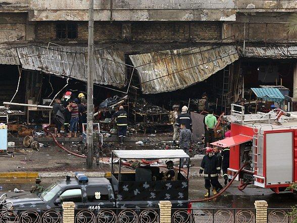 Výbuchy v iráckém městě Samarrá zabily 21 lidí.