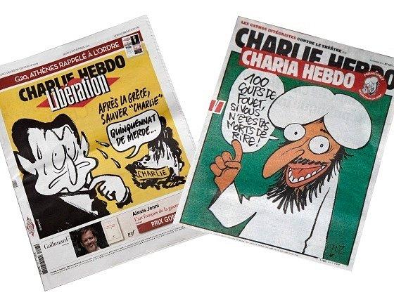 Francouzský týdeník Charlie Hebdo vydal komiks o životě Mohameda