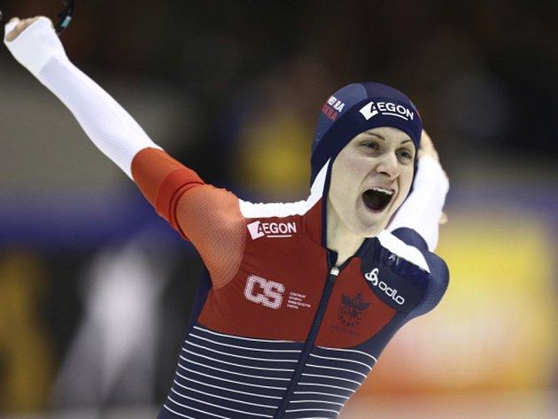 Martina Sáblíková vybojovala na MS dvě zlaté medaile.