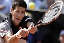 Novak Djokovič na turnaji v Římě.