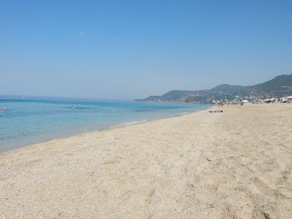 Alanya: známá Kleopatřina pláž