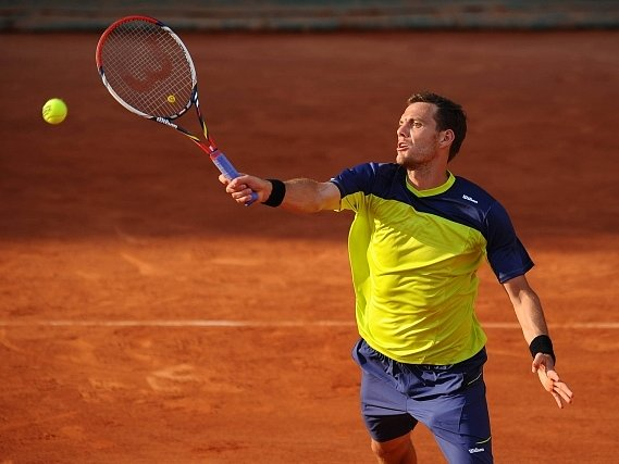 Paul Henri Mathieu na French Open.