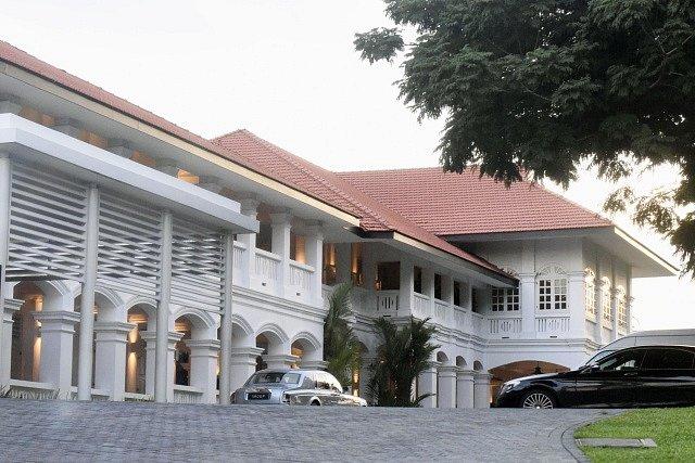 Hotel Capella na ostrově Santosa, kde se sejdou Donald Trump a Kim Čong-un.