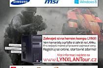 Pozvánka na Lynx LAN Tour.
