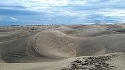 Gran Canaria. Písečné duny u Maspalomas.