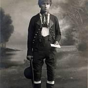 Kašpar Hauser v dobách dospívání.