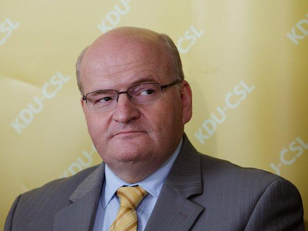 KDU-ČSL představila lídry kandidátek do voleb. Daniel Herman