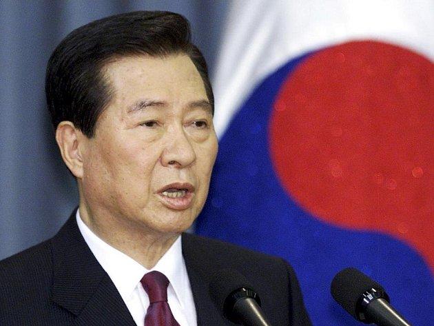 Bývalý jihokorejský prezident Kim Te-džung.