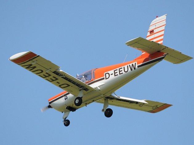 Letadlo Socata. Ilustrační foto.