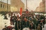 Krvavá neděle, jak ji zachytil Vladimir Makovskij (1846 až 1920)