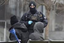 Policejní kontrola v Praze
