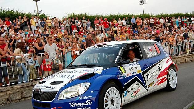 Pavel Valoušek na Rally Bohemia.