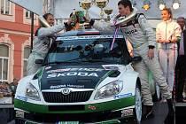 Jan Kopecký vyhrál Valašskou rallye.