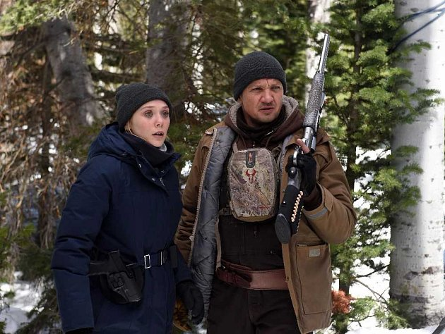 Jeremy Rener ve filmu Wind River