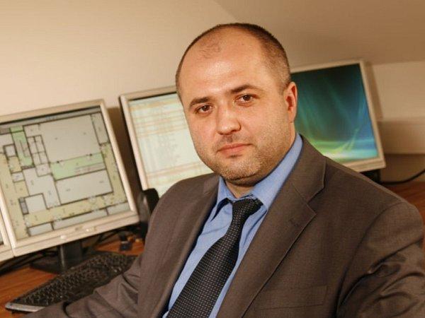 Odborník na zabezpečovací techniku Richard Panáček.