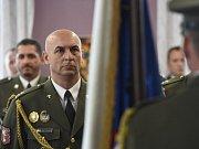 Medailí byl oceněn i vojenský policista Roman Gottfried