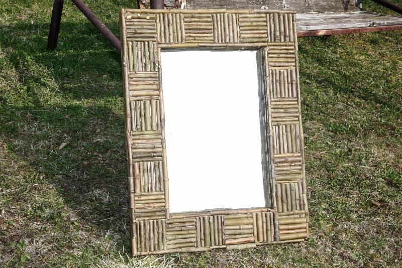 Výroba stylového zrcadlového rámu
