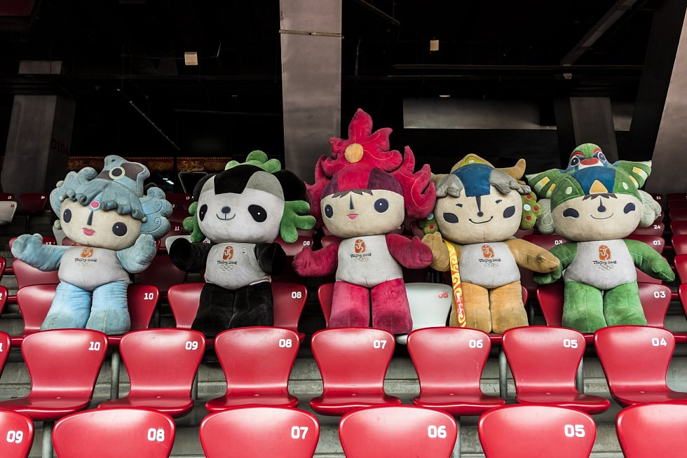 Olympijské hry v Pekingu.
