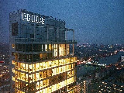 sídlo firmy Phillips v Amsterdamu