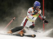 Lyžařka Šárka Záhrobská na olympijských hrách ve Vancouveru.