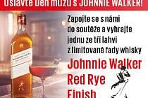 Soutěžte s Deníkem o whisky Johnnie Walker Red Rye Finish