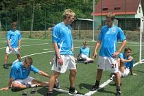 Fotbalové soustředění - ilustrační foto