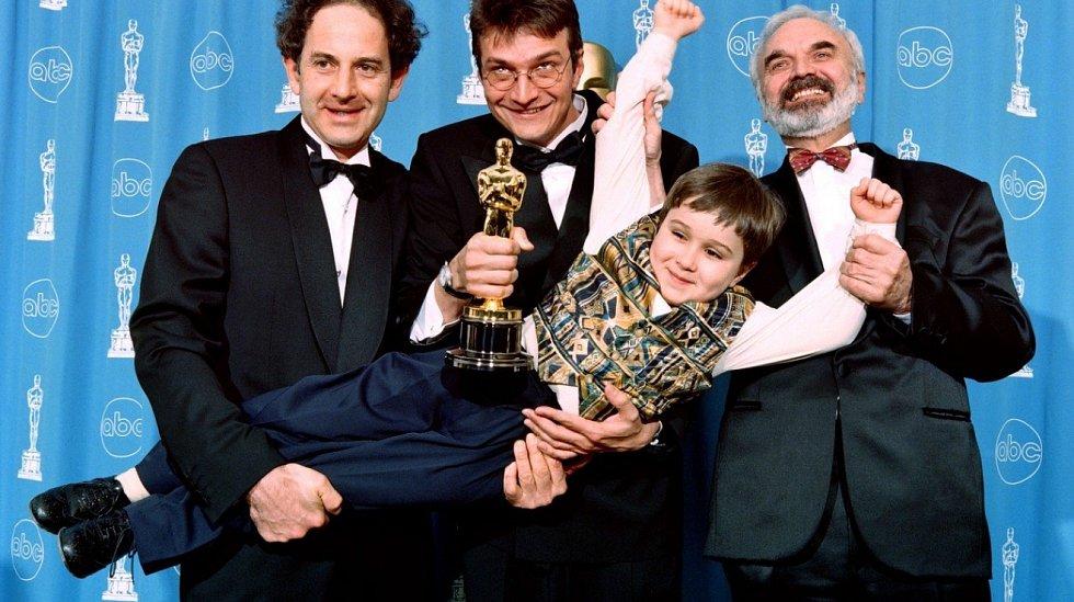 Svěrákovi na Oscarech