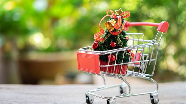 Vánoční nákupy - Ilustrační foto