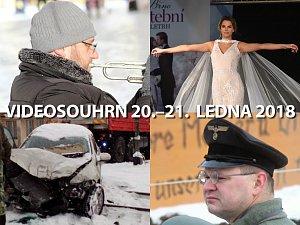 Videosouhrn Deníku – 20.–21. ledna 2018