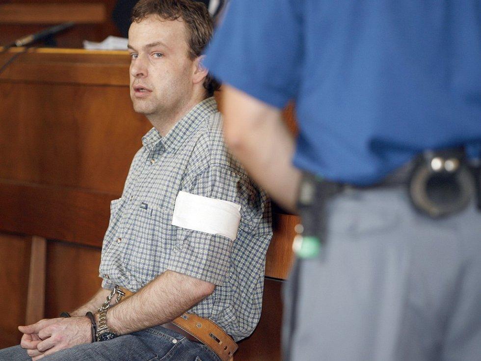 Petr Zelenka u soudu