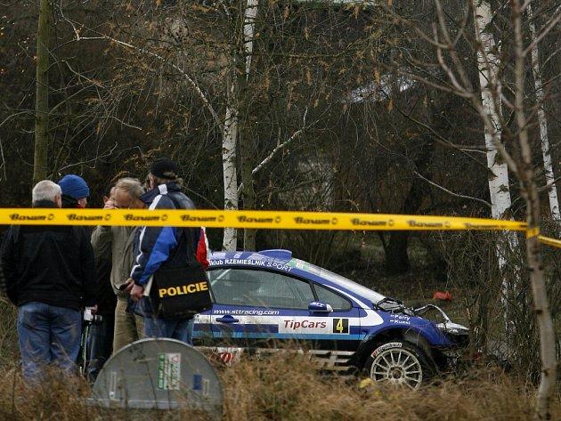 Pražský rallysprint skončil tragickou nehodou, při které zemřeli dva diváci.