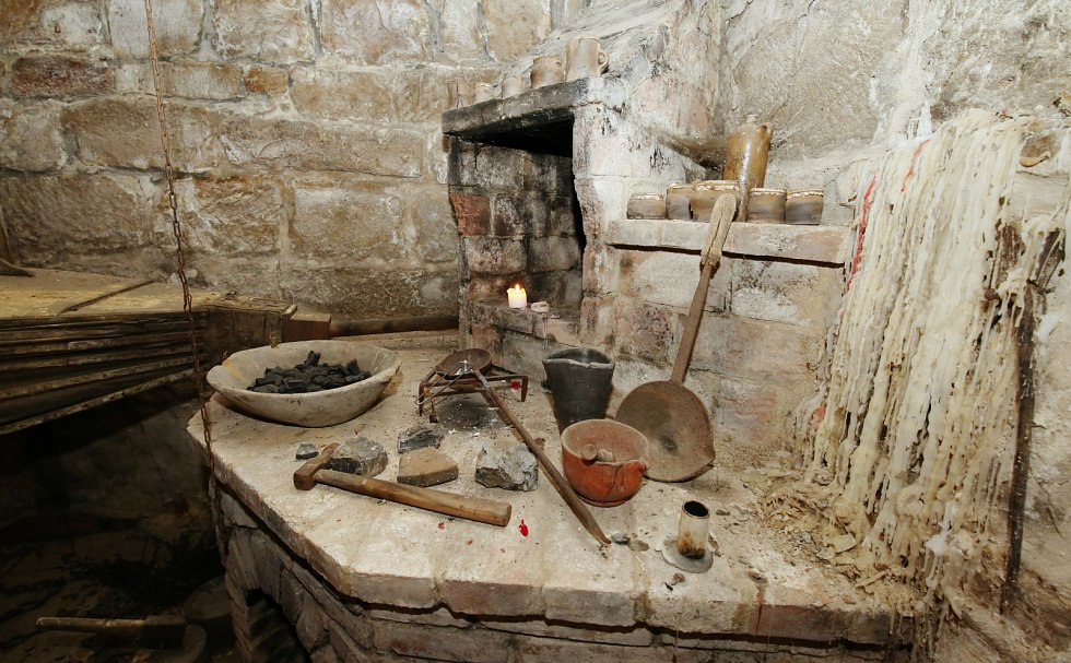 Jandovo muzeum, alchymistická dílna