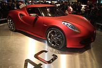 Na Autosalonu v Ženevě se představil koncept Alfa Romeo 4C