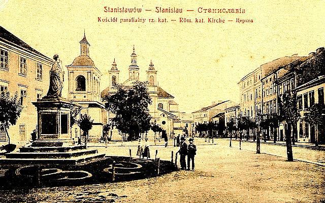 Katolická katedrála ve Stanislavově