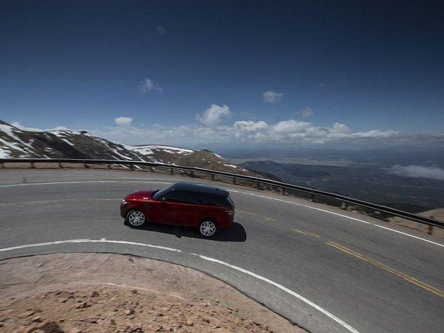 Range Rover Sport na Pikes Peak Hill Climb.