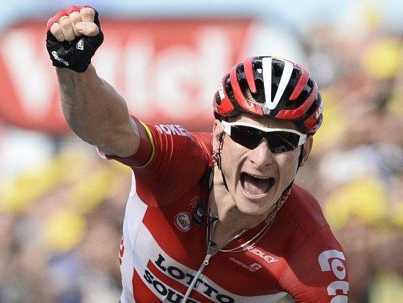 Nejrychlejším cyklistou druhé etapy Tour de France byl André Greipel